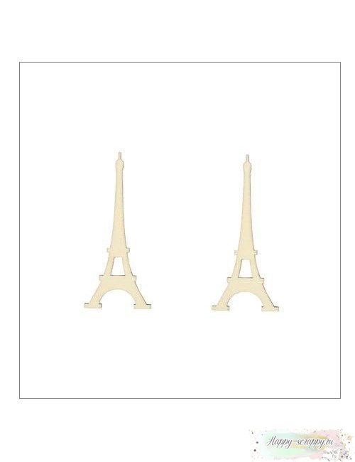 Чипборд деревянный Эйфелева башня