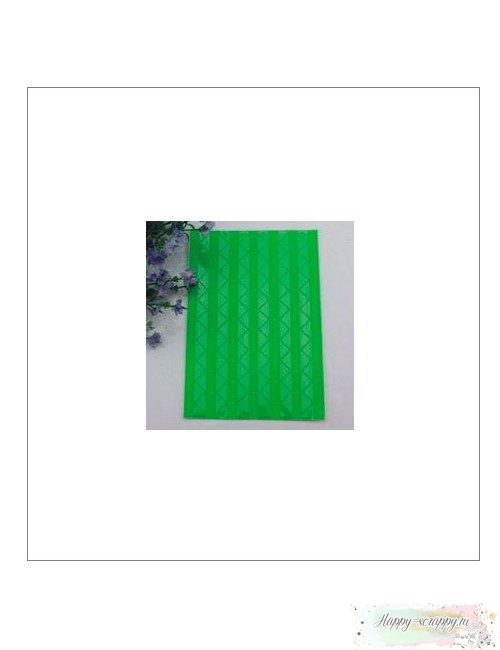 Уголки для фото прозрачные зеленые