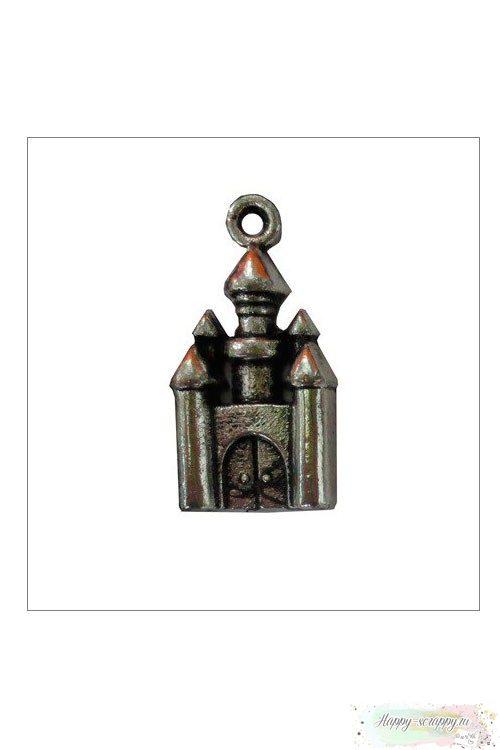 Металлическая подвеска Сказочный замок