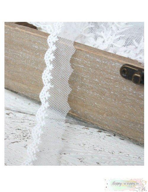 Кружево на сетке хлопок - 1,2 см