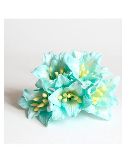Лилии бирюзовые