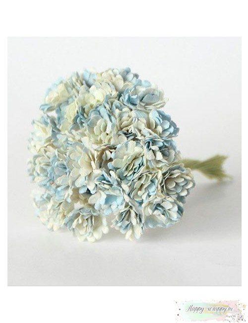 Гипсофилы бело-голубые 1 см (10 шт)