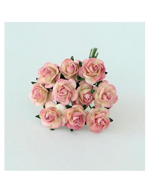 Розы ягодно-молочные