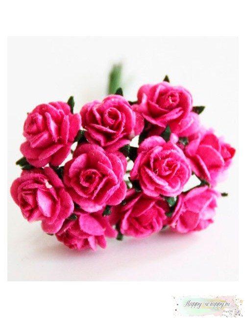 Розы цвета фуксии
