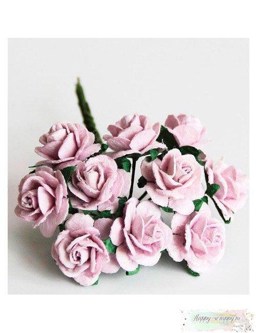 Розы светло-сиреневые