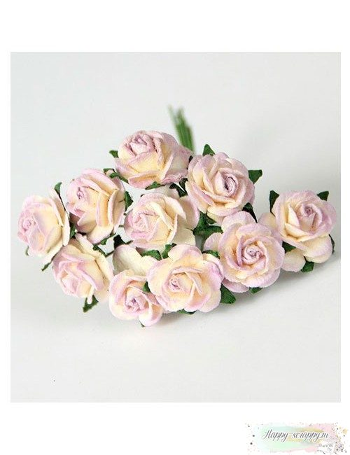 Розы св.сиреневый-молочный