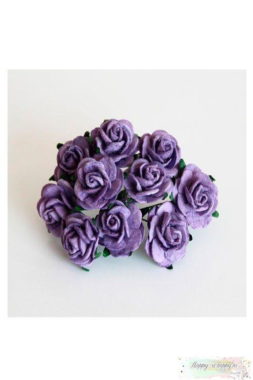 Розы сиреневые (5 шт)