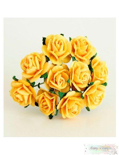 Розы желтые