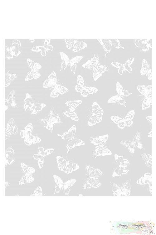 Калька декоративная Бабочки