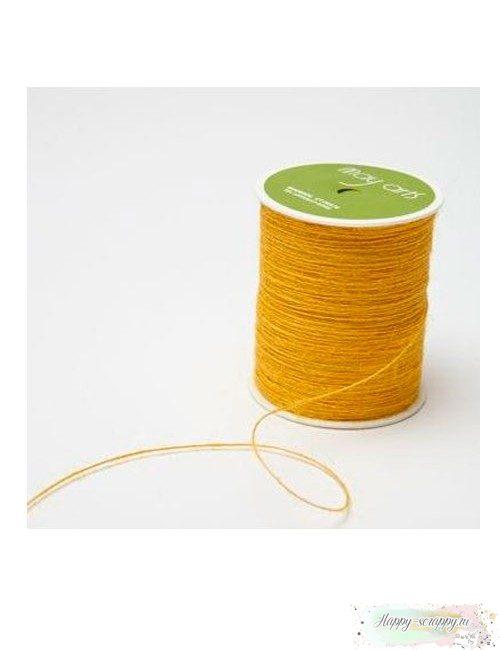 Ворсистый шнур желтый
