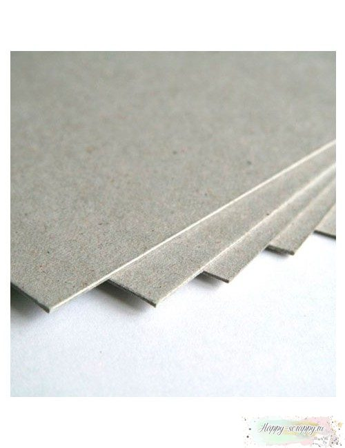 Переплетный картон (серый)