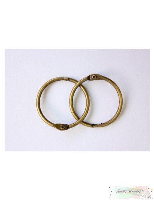 Кольца металлические медь