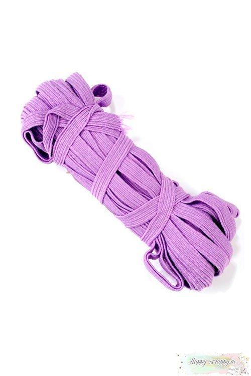 Резинка плоская фиолетовая 7 мм
