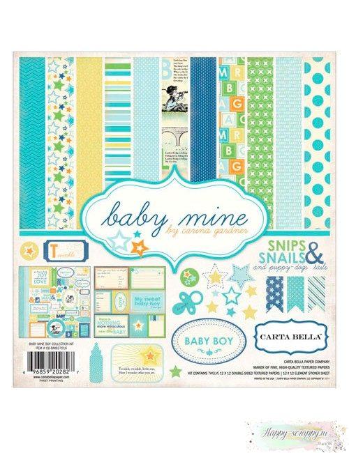 Набор бумаги Baby Mine - Boy