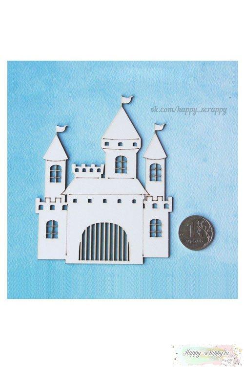 Чипборд из картона Замок