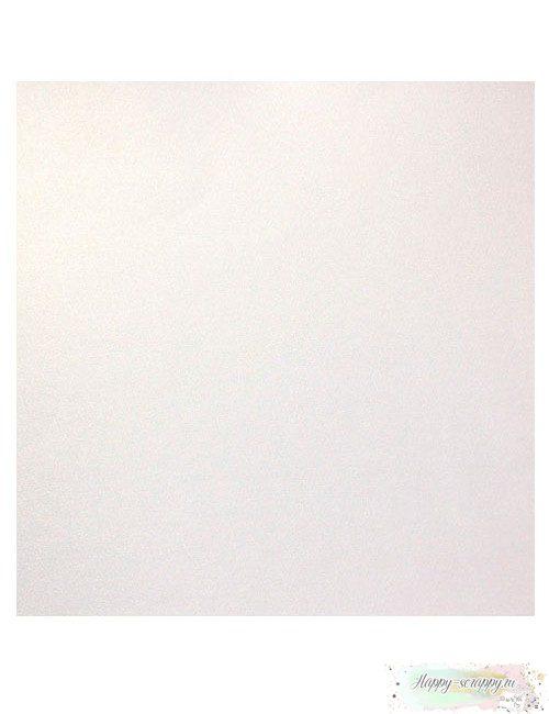 Кардсток базовый — Белый Жемчужный