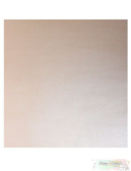 Кардсток базовый — Бежевый Жемчужный
