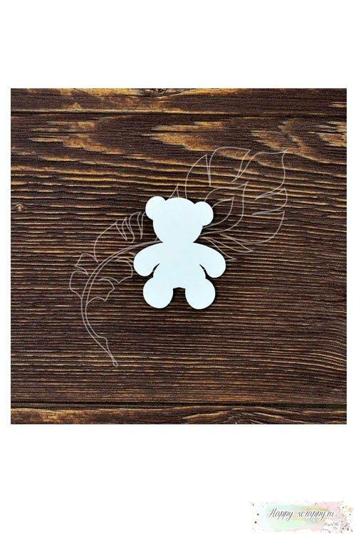 Чипборд из картона Мишка-2