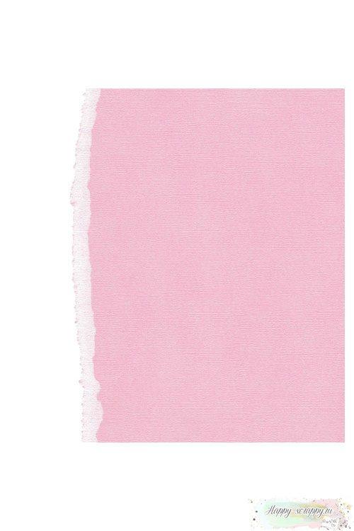 Кардсток текстурный Бледно-розовый
