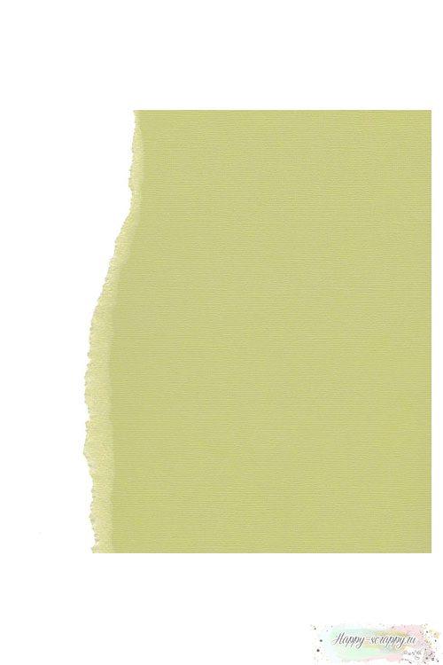 Кардсток текстурный Фисташковый