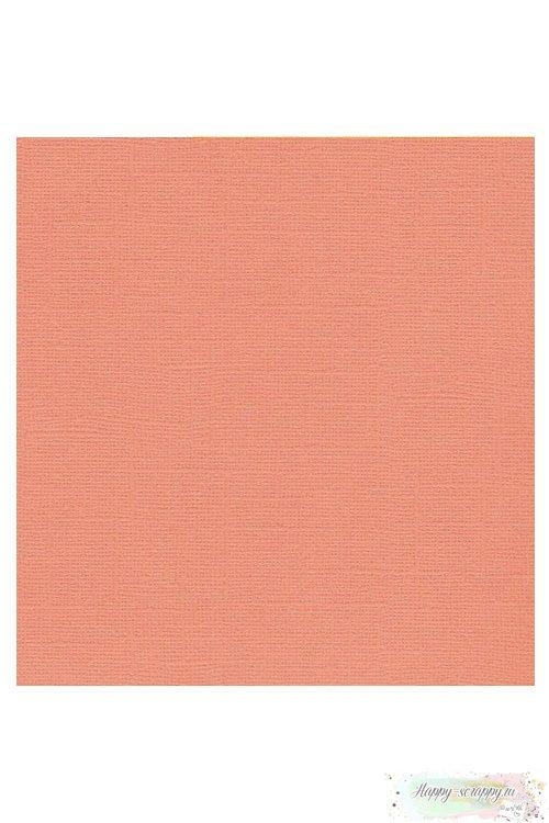 Кардсток текстурный Персиковый