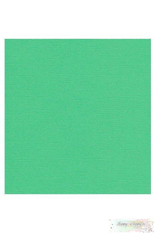 Кардсток текстурный Зеленый луг