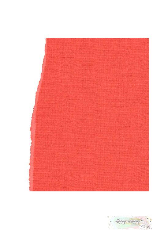 Кардсток текстурный Ярко-оранжевый