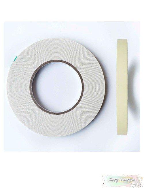 Двусторонний скотч на вспененной основе 12 мм
