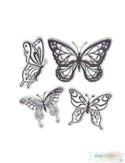 Набор штампов Бабочки