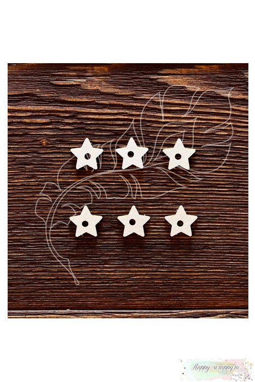 Чипборд из картона Подложки для анкеров звездочка