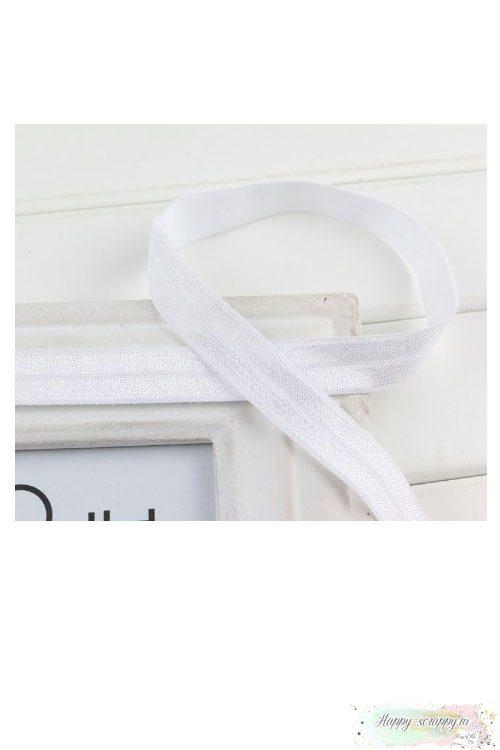 Резинка широкая - белая (90 см)