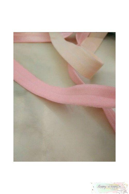 Резинка широкая - светло-розовая (90 см)