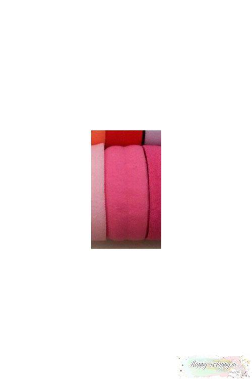 Резинка широкая - розовая (90 см)