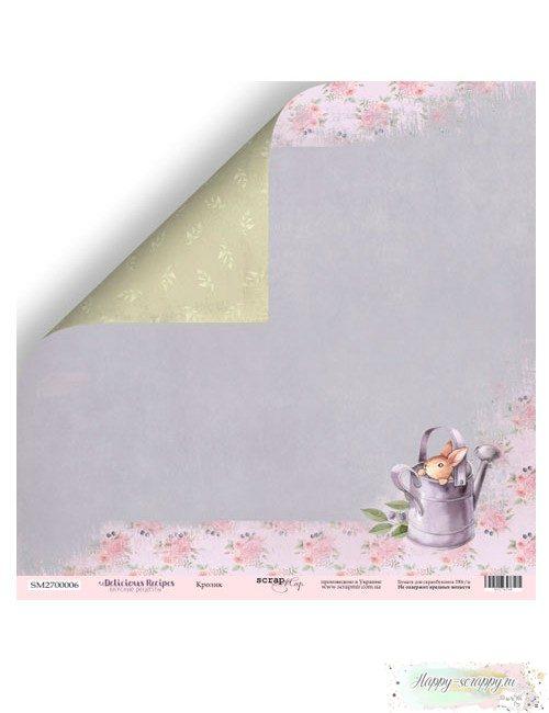 Бумага для скрапбукинга Delicious Recipes - Кролик
