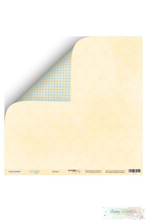 Бумага для скрапбукинга Little Bear - Дамаск
