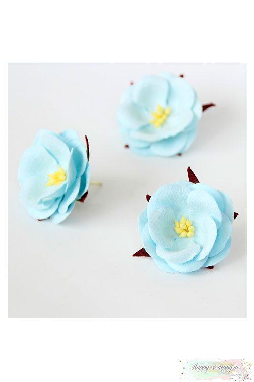 Дикая роза - голубая (1 шт)