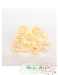 Цветы средней вишни - молочные (5 шт)