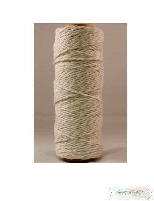 Шнур Твайн - бежевый (90 см)