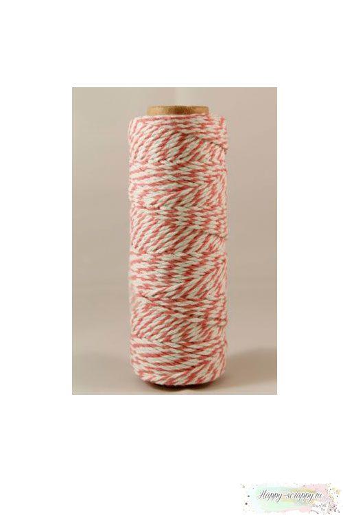 Шнур Твайн - розовый (90 см)