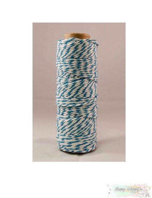 Шнур Твайн - ярко-голубой (90 см)
