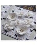 Набор цветов Pastel Flowers - белые