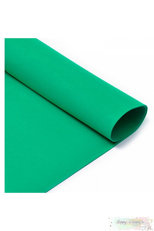 Лист фоамирана 50х50 см - зеленый
