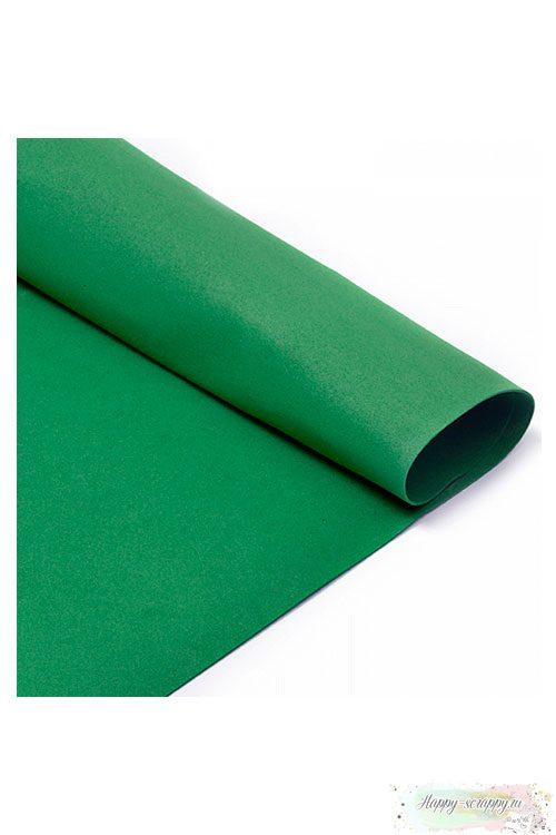 Лист фоамирана 50х50 см - темно-зеленый