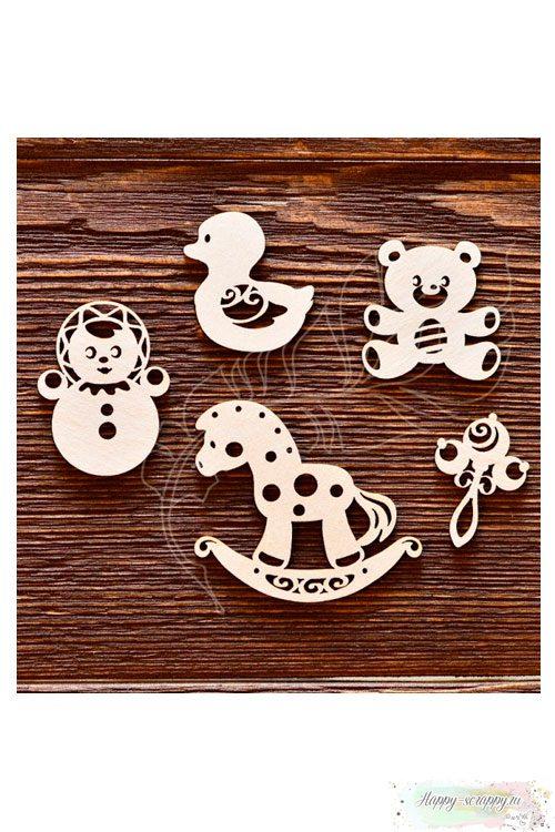 Чипборд из картона Детский набор №3