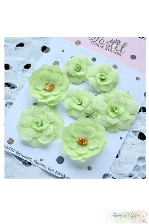 Набор цветов Pastel Flowers - лимонные