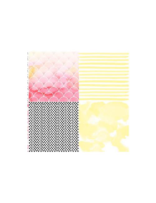Набор бумаги для скрапбукинга Mangolia Sky