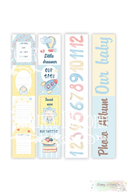 Набор бумаги для скрапбукинга Sweet baby boy
