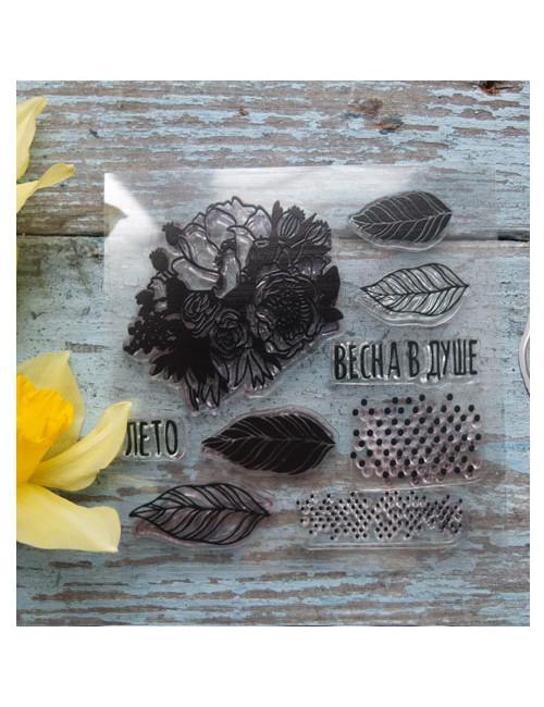 Набор штампов и ножей для вырубки Весна в душе