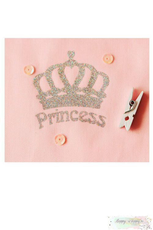 Термо-стикер Корона Princess