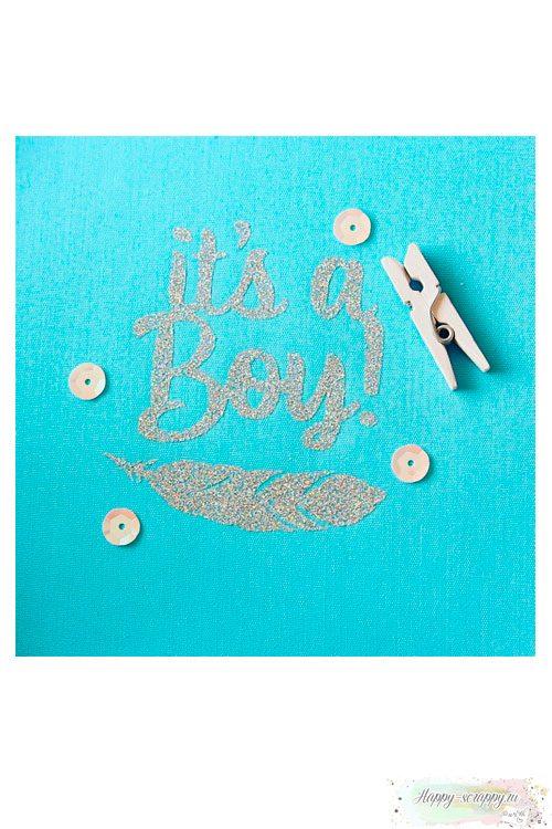 Термо-стикер It's a boy